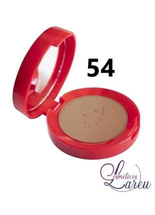 Blush matte ultra fino com espelho nº 54 max love (+ 5 tons na lareu)