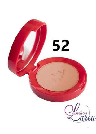 Blush matte ultra fino com espelho nº 52 max love (+ 5 tons na lareu)