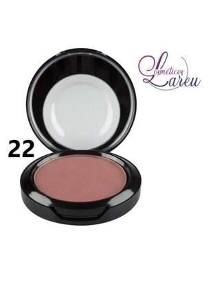 Blush matte nº 22 max love (+ 11 cores na lareu)