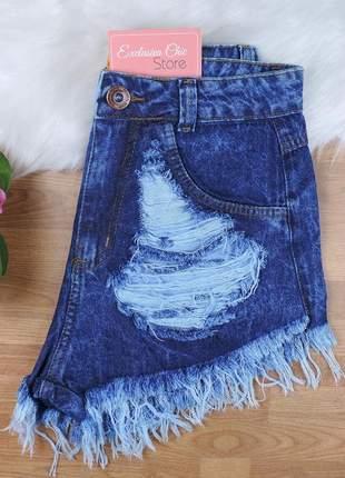 Short jeans desfiado sh26