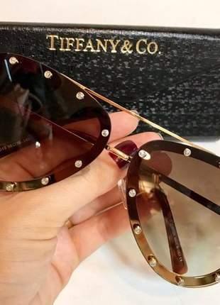 Óculos de sol louis vuitton aviador strass