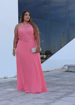 Vestido plus size de festa casamento formatura madrinha casamento noivas luxo mãe noivos