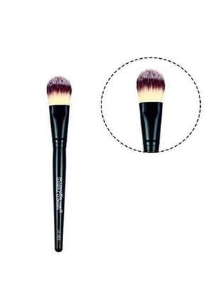 Pincél para base macrilan -  maquiagem profissional linha onix o-103