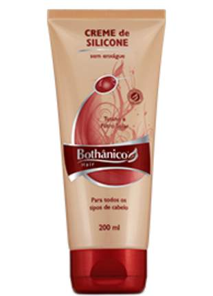 Creme silicone com tutano e filtro solar bothanico hair 200ml