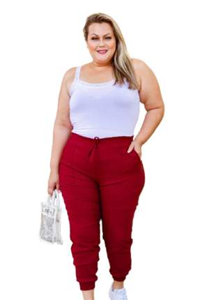 Calça jogguer plus size roupas femininas moda instagram
