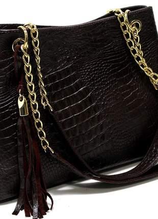 Bolsas em couro croco legitimo luxo moda 2021 lançamento marca clara borges