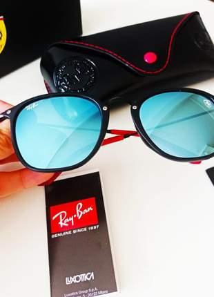 Óculos de sol ray-ban scuderia ferrari rb2448