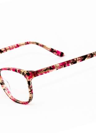 Oculos Armação de Grau Feminino Original Kallblack AF6395