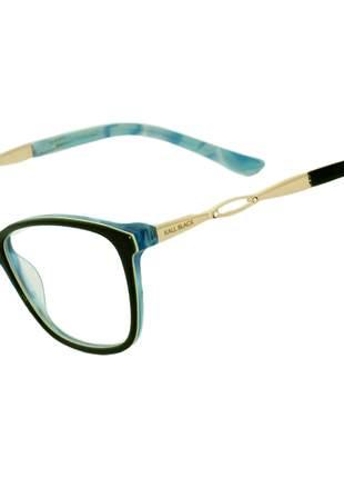 Oculos Armação de Grau Feminino Original Kallblack AF6264