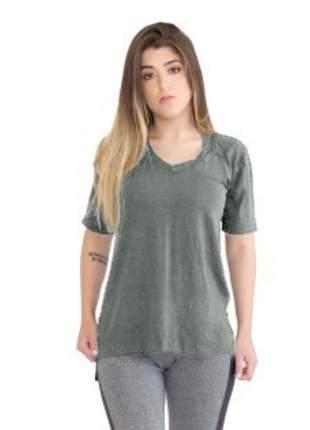 Camiseta Tapa Bumbum Manga Curta Cinza