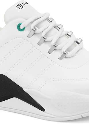 Tênis feminino ramarim branco sneaker 2072204v