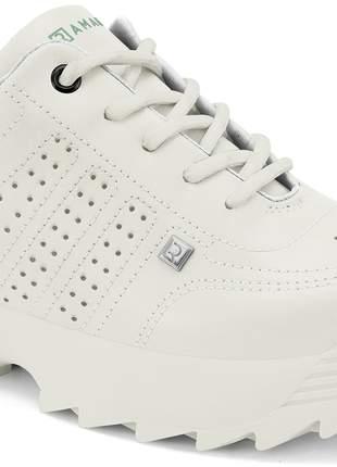 Tênis feminino chunky sneaker branco ramarim 2075201