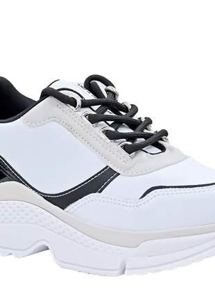 Tênis feminino branco ramarim 2079201