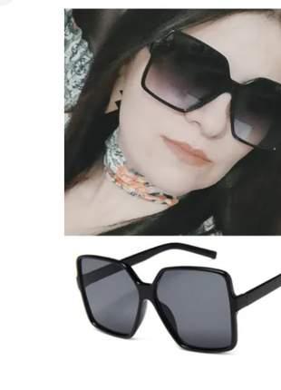Óculos de sol feminino moda vintage retrô lançamento