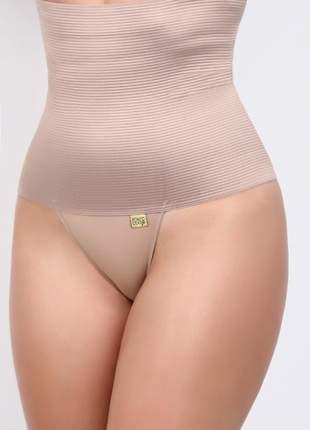 Cinta elástica alta modeladora seca barriga super compressão da cintura