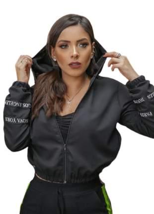 Jaqueta corta vendo moda feminina instagram