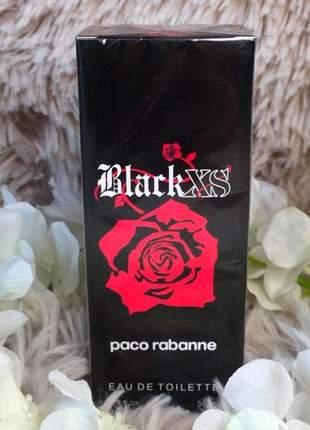Perfume importado black xs feminino eau de toilette 50ml - envio rápido