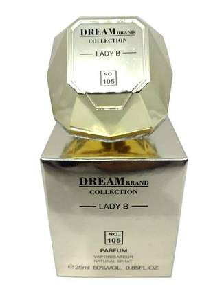 Perfume importado feminino dream brand collection lady b 25 ml