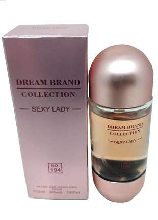 Perfume importado feminino dream brand collection sexy lady 25ml