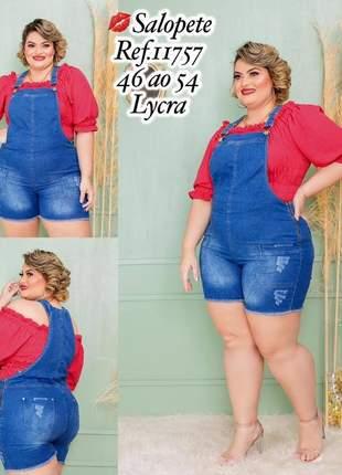 Salpete jeans plus size