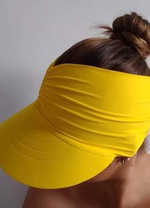 Viseira turbante  feminina elastano