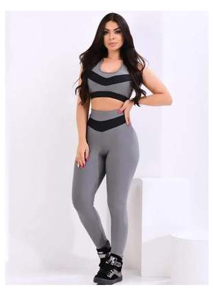 Conjunto de academia feminino moda fitness conjunto feminino