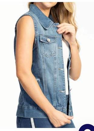Colete jeans - biotipo