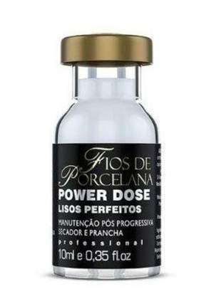 Power dose lisos perfeitos fios de porcelana 10ml
