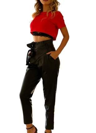 Calça Feminina Cintura Alta Kim Incentive