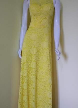 5109b73c7 Vestido de renda longo - compre online, ótimos preços | Shafa