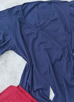 Blusa soltinha manga flare de amarrar