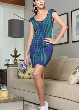 Vestido de trico estilo bandagem
