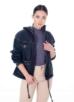 Jaqueta parka jeans