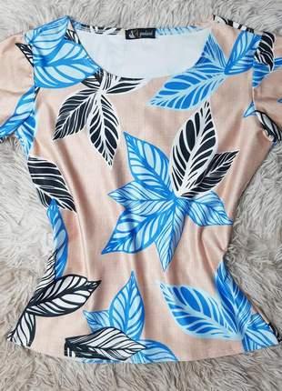 Blusa blusinha t-shirt  feminina moda evangélica