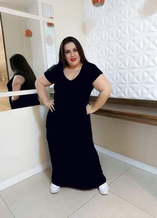 Vestido plus size asa lateral