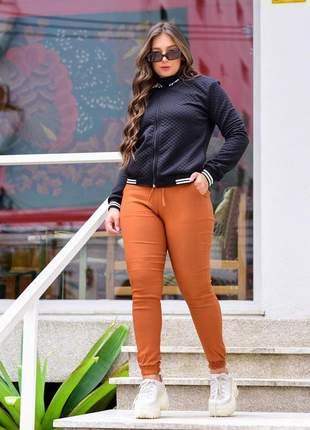 Jaqueta bomber metalassê feminina moda atual