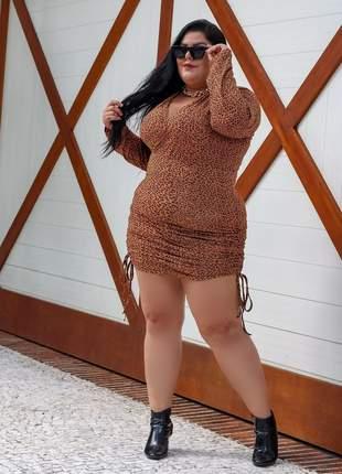 Vestido anita moda plus size