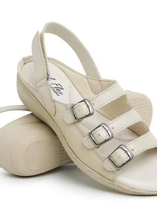 Sandália confort ortopédica antiderrapante total conforto em oferta lançamento
