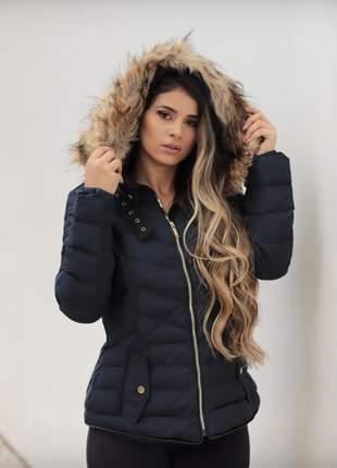 Jaqueta nylon feminina