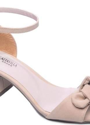Sandália femininas salto conforto angela