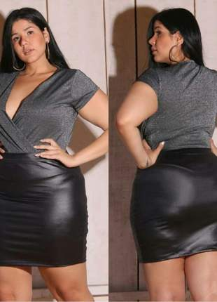Body lurex plus size