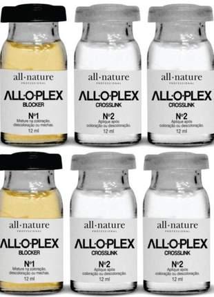 Alloplex blocker ampolas  all nature - dose dupla - bloqueado
