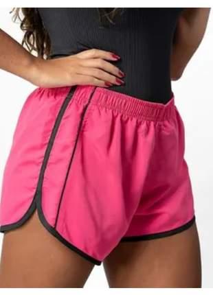Kit 4 peças shorts academia e corrida - feminino -