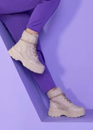 Tênis bota off white feminino ramarim 2186132
