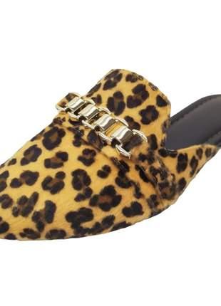 Mule feminino numeração especial grande tamanco sapatilha rasteira  40 ao 43