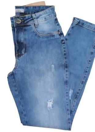 Calça jeans casual skinny feminina 6034