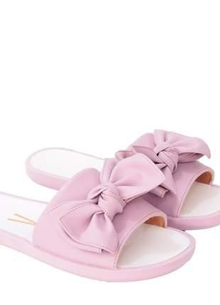 Chinelo slide feminino lavanda vizzano 6363115l