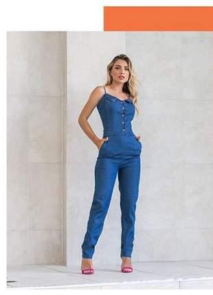 Macacão longo feminino jeans macacao03