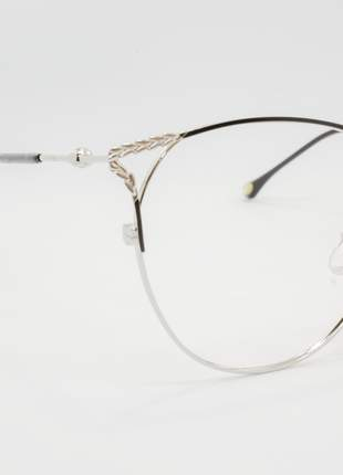 Armação óculos de grau feminino miopia hipermetropia rafaello - raf39