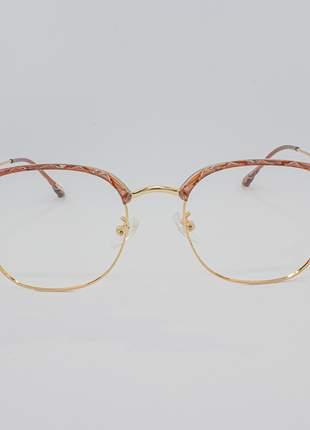 Armação óculos de grau feminino miopia hipermetropia rafaello - raf42